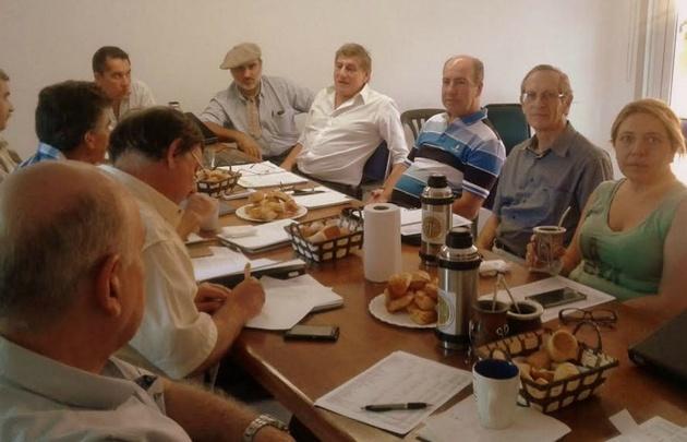 Reunión del Colegio de Ingenieros Agrónomos de Córdoba.