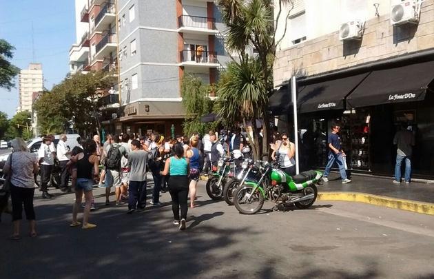 Incidentes en Mar del Plata por el aumento del boleto (Foto: www.lacapitalmdp.com)