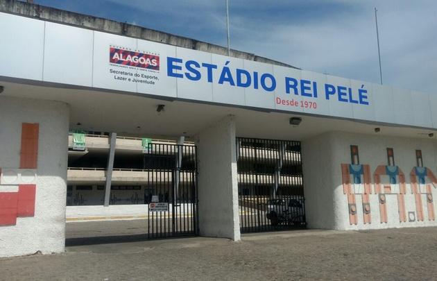 El estadio Rei Pelé de Maceió.