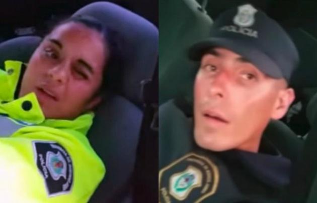 Los dos uniformados fueron encontrados durmiendo en horario de servicio.