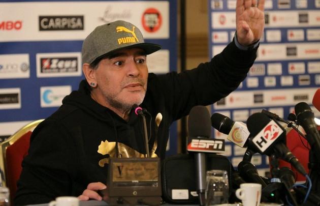 Diego es embajador global de la FIFA.