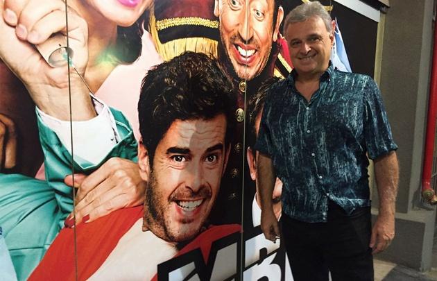 Daniel Comba, productor teatral de Carlos Paz.