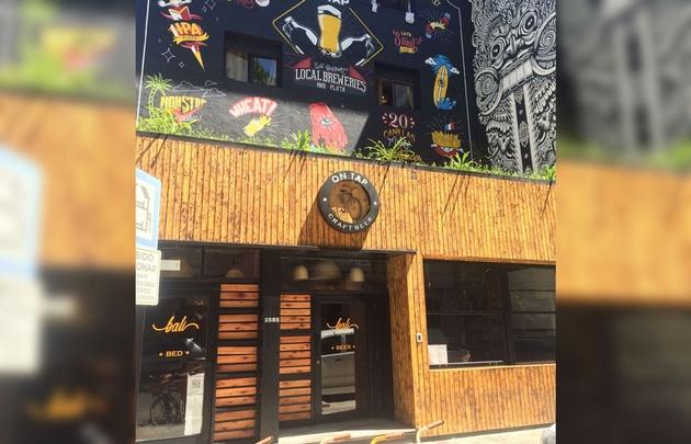 El primer hotel con cervecería artesanal en Mar del Plata.