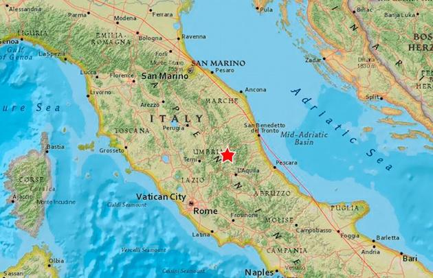 El terremoto se sintió en varias ciudades del centro del país.