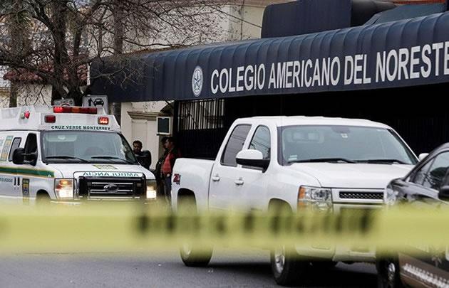 La balacera fue en una de las escuelas más caras de Monterrey (Foto: @ActualidadRT)
