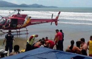 Los rescatistas le realizaron las maniobras de resucitación durante 45 minutos.