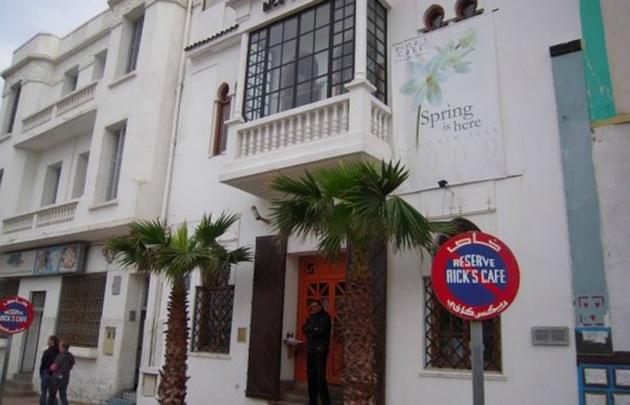 El Café de Rick, en Casablanca, es una casona de 1930, y recrea al de la película.