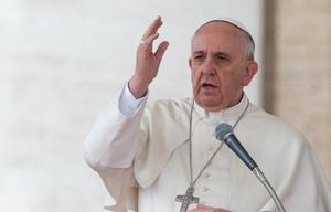 El Papa reiteró sus críticas a acumular bienes materiales.