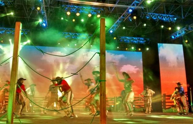 La primera noche del Festival Nacional del Chamamé reunió a 11.500 mil personas.