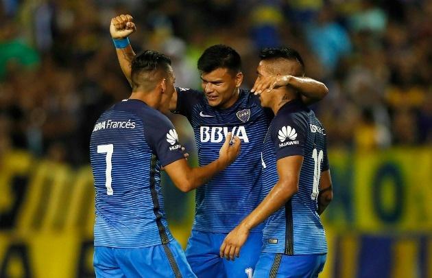 Boca venció a Estudiantes por 2 a 0.