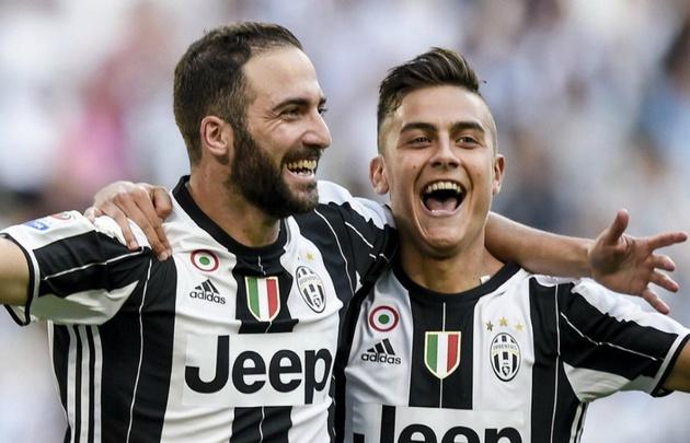 Juventus venció a Lazio gracias a los goles de Higuaín y Dybala.