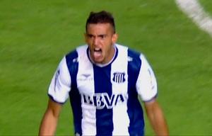 Victorio Ramis fue el autor del gol de Talleres en el tiempo reglamentario.