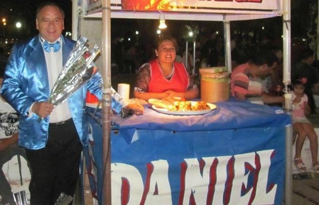 Daniel Martínez, el cubanitero del Festival Nacional de Folklore (Foto: Facebook).