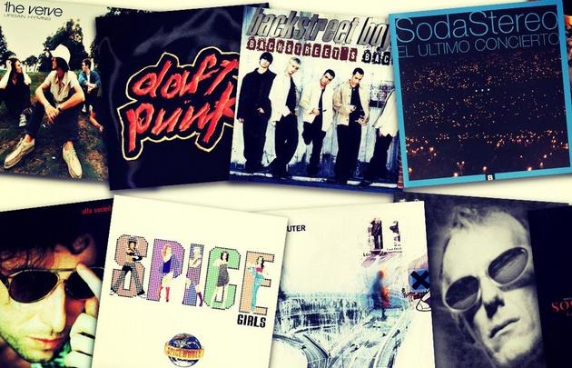 5 discos que hablan de una generación.