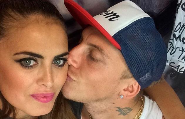 Silvina Luna y El Polaco están de novios en Carlos Paz.