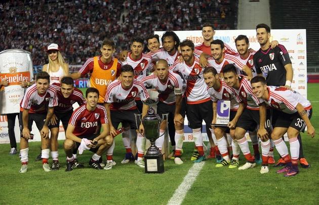 River se quedó con la Copa Luis Nofal.