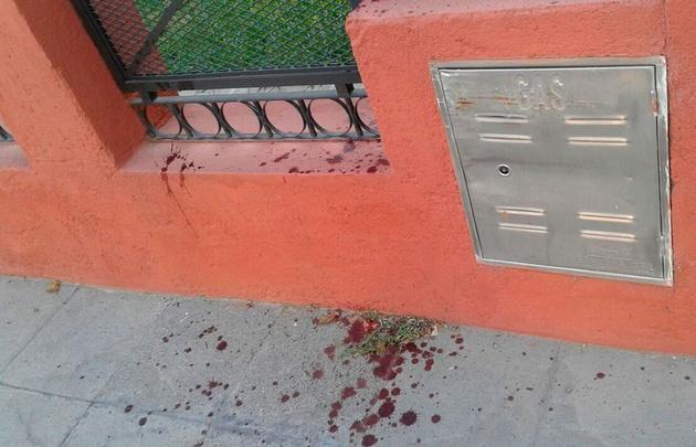 El delincuente resultó herido al saltar un muro perimetral.