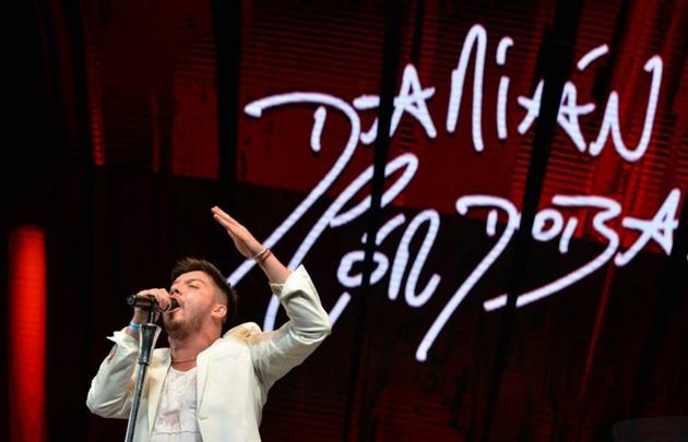 Damián Córdoba anunció su regreso al Gran Rex y un show en el Luna Park.