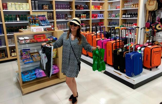 San Andrés, un lugar para los fanáticos de las compras.
