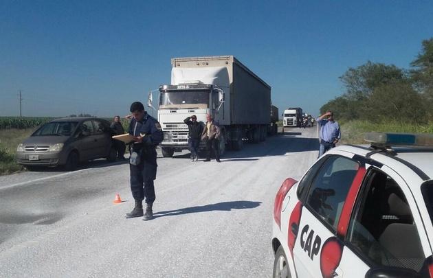El hecho ocurrió sobre ruta 9 Sur, mano Córdoba-Río Segundo. (Foto ilustrativa).