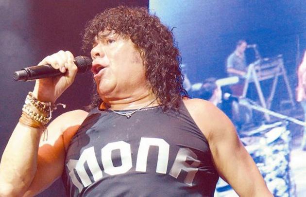 El cantante se presentará esta noche en Forja.
