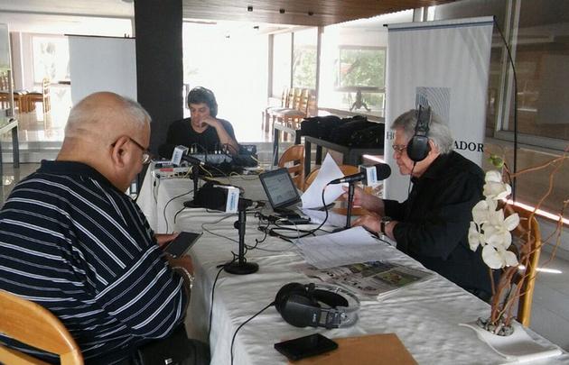 Rony Vargas transmite desde el Hotel Libertador de San Francisco.