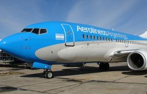 Los vuelos de Aerolíneas Argentinas se reprogramarán (Foto de archivo)