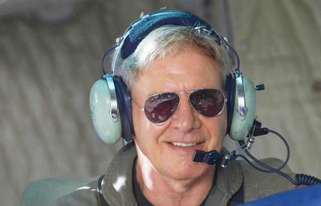Harrison Ford es un conocido amante de la aviación.