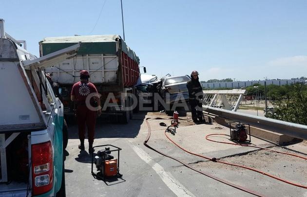 Accidente fatal en Av. Circunvalación de Córdoba.