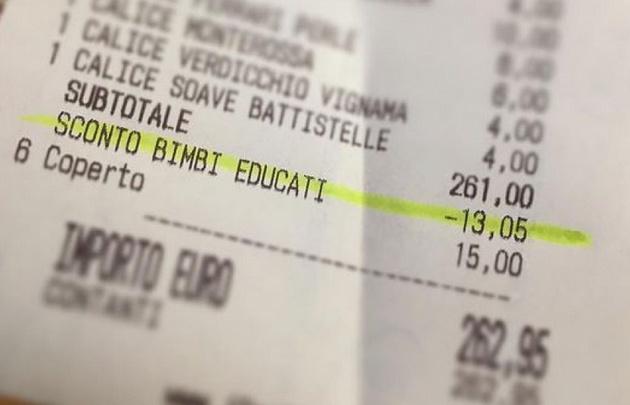 El dueño descontó más de 13 euros  Foto antonioferrari_a_padova