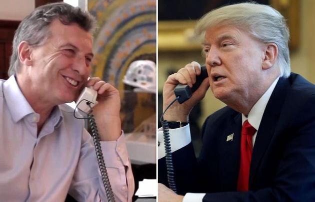 Macri será recibido por Trump a fines de abril.