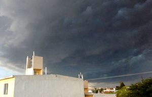 Rige una alerta por tormentas fuertes para Córdoba y centro del país.