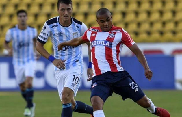 Atlético Tucumán no pudo con Junior en Colombia.