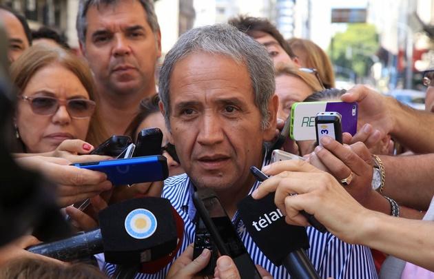 El titular del gremio bancario,Sergio Palazzo.