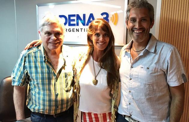 Flavia Irós visitó los estudios de Viva la Radio.
