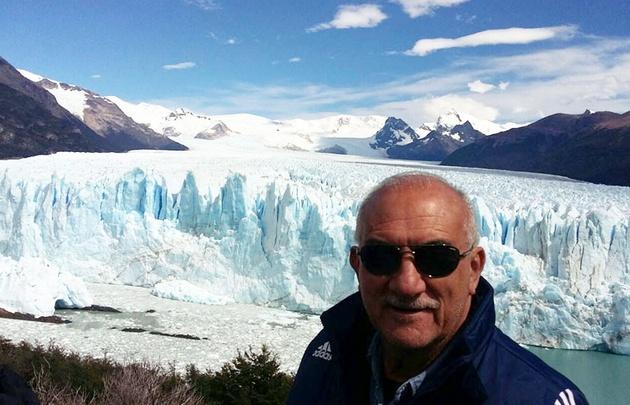 Luis Yunes, desde El Calafate.