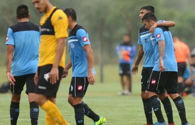 """""""El Celeste"""" goleó por 4 a 1 a Olimpo de Bahía Blanca."""