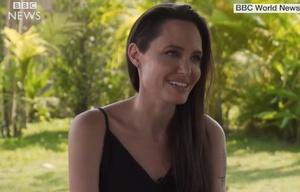 Angelina Jolie habló sobre su separación