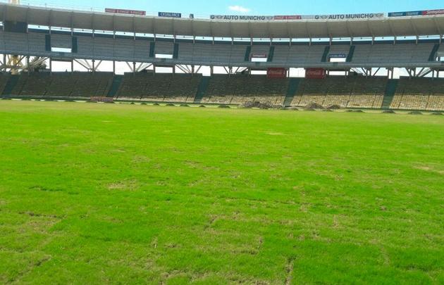 El campo de juego del Kempes no llegaría al inicio del torneo.