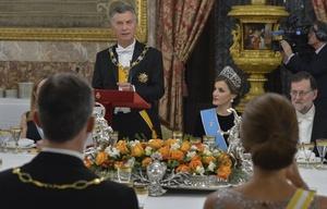 Macri llamó a recuperar la confianza con España.