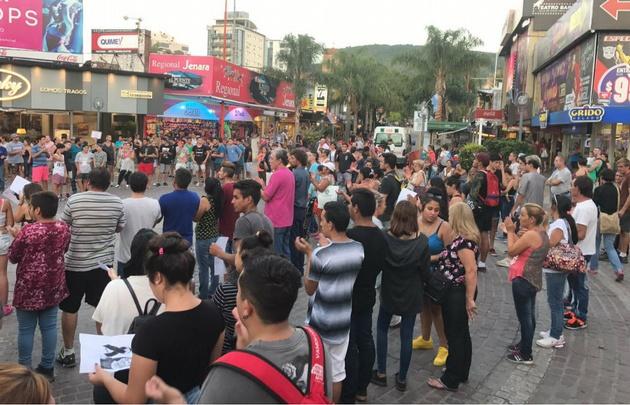 Marcharon en reclamo de justicia por Franco Amaya en Carlos Paz.