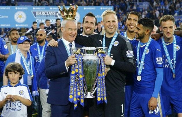 Ranieri llevó al Leicester a consagrarse campeón de la Premier League.
