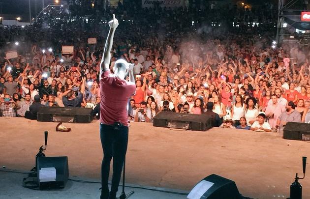 Abel Pintos en el Festival Serenata Cafayate