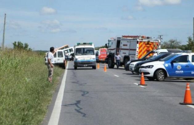 Los testigos vieron el momento de la explosión del neumático.