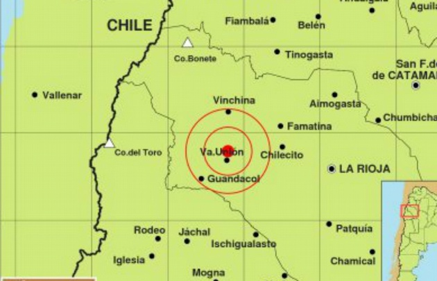 El sismo tuvo una magnitud de 5.2 grados y una profundidad de 164 kilómetros.