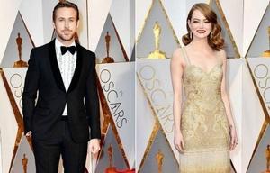 Los famosos deslumbraron con sus looks en la alfombra roja.