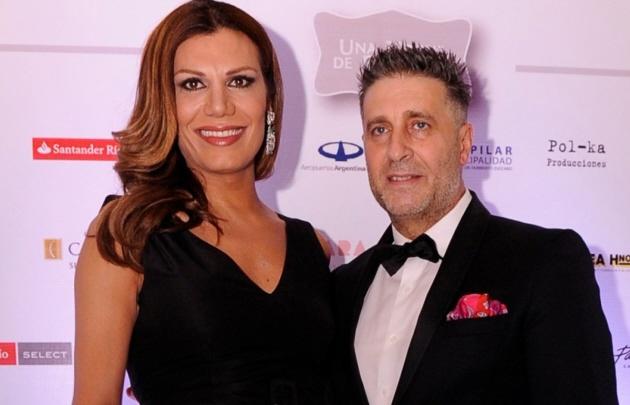 El esposo de Flor de la V protagonizó un accidente en Carlos Paz.