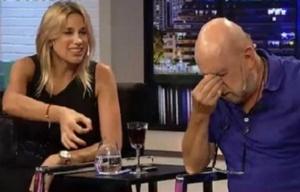"""Alina Moine lo """"paseó"""" a Horacio Pagani hablando de fútbol."""