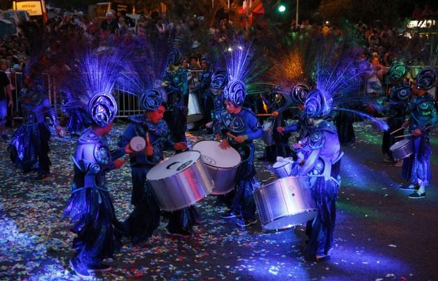 El carnaval hizo vibrar a Mar del Plata.
