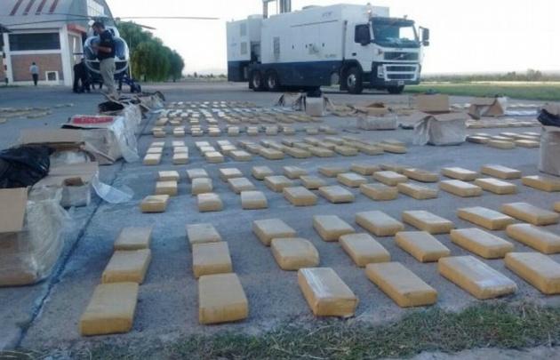 El cargamento provenía desde Paraguay. (Foto: Gentileza de Diario Uno)